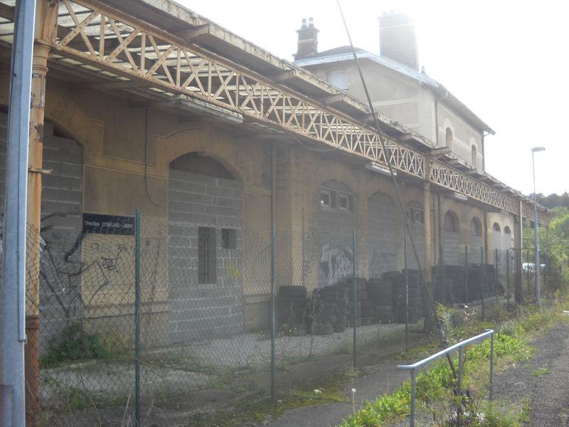 Homécourt (Meurthe-et-Moselle) côté voie