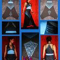 robe sarouel combinaison créateur 1 air 2 baba turquoise