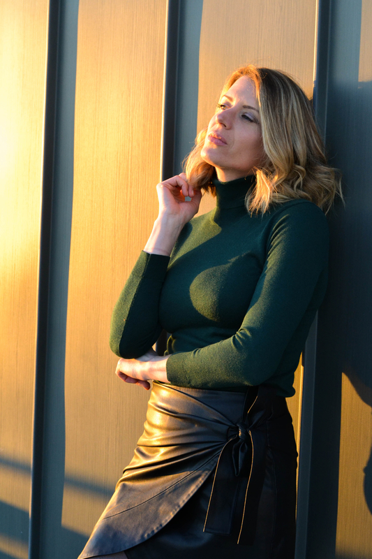 Green and leather - styliz (1)