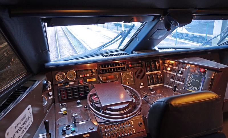 TGV Cabine