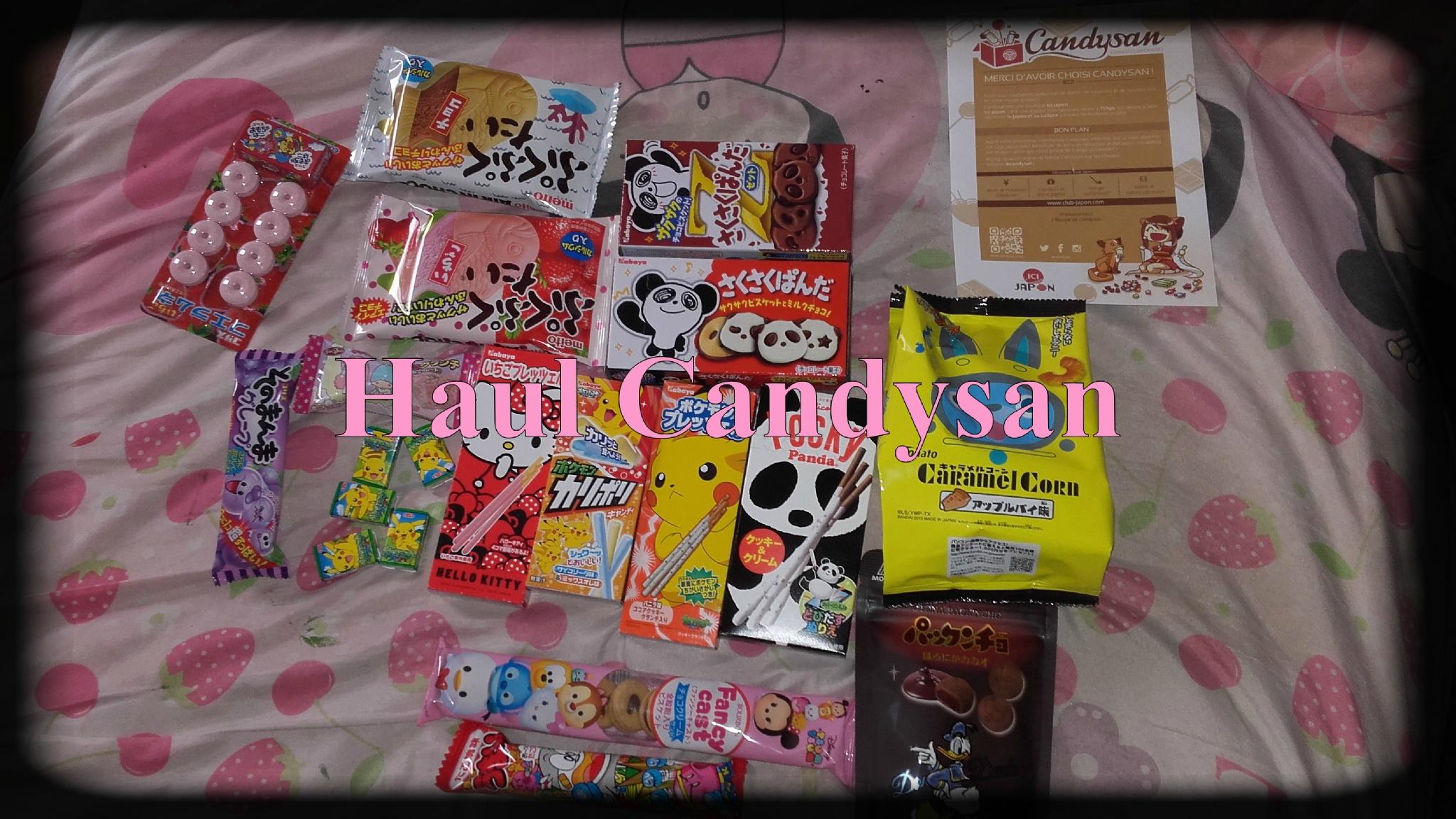 Haul chez Candysan