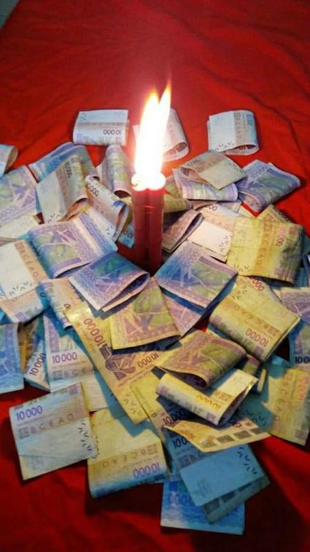 Pour attirer l'argent dans l'immédiat