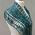Nouveau design: posidonia châle au crochet/ new design posidonia shawl crochet/ nuevo diseño posidonia chal de ganchillo