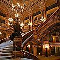 Lustres en cristal de l'opéra de paris