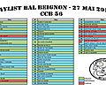 Notre prochain bal aura lieu le dimanche 27 mai à beignon ( 56 )