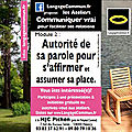 • ateliers communiquer vrai pour faciliter ses relations - langagecommun saison 2019-2020