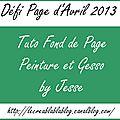 Défi Page Avril 2013