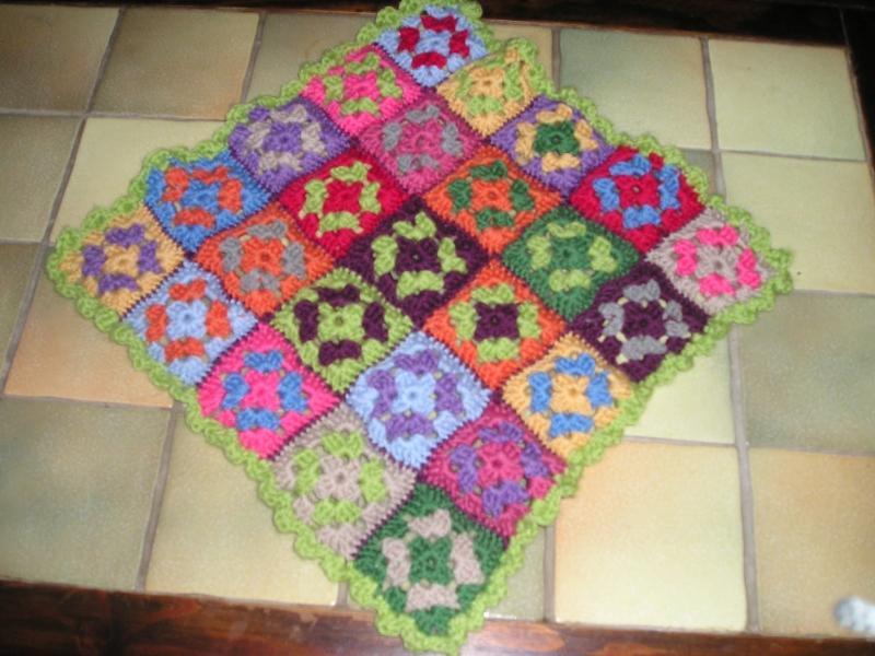 carres crochet