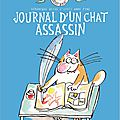 Le journal d'un chat assassin : un incontournable de la littérature jeunesse en bd