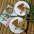 Melktert (tarte au lait) d'afrique du sud