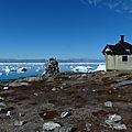 Le groenland - journée de repos près de la cabane de pernakaajit