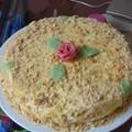 Gâteau russe au miel