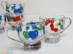 tasses verrre mulubrok vintage