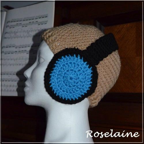 Roselaine bonnet écouteurs 2