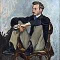 Frédéric Bazille - Portrait Renoir
