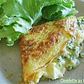 Omelette au chaource