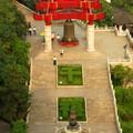 La vue depuis la tour de la Grue Jaune