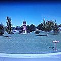 Rond-point à collège place (washington)