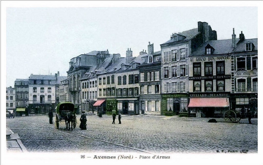 AVESNES-La Grand'Place (2)
