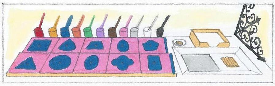 image de formes à dessin