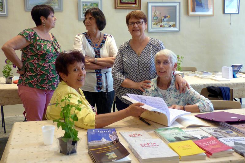Salon La Magdeleine juin 2018 Monette, Maryam, Chantal, Monique et Cathy