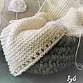 Mes réalisations tricot - crochet