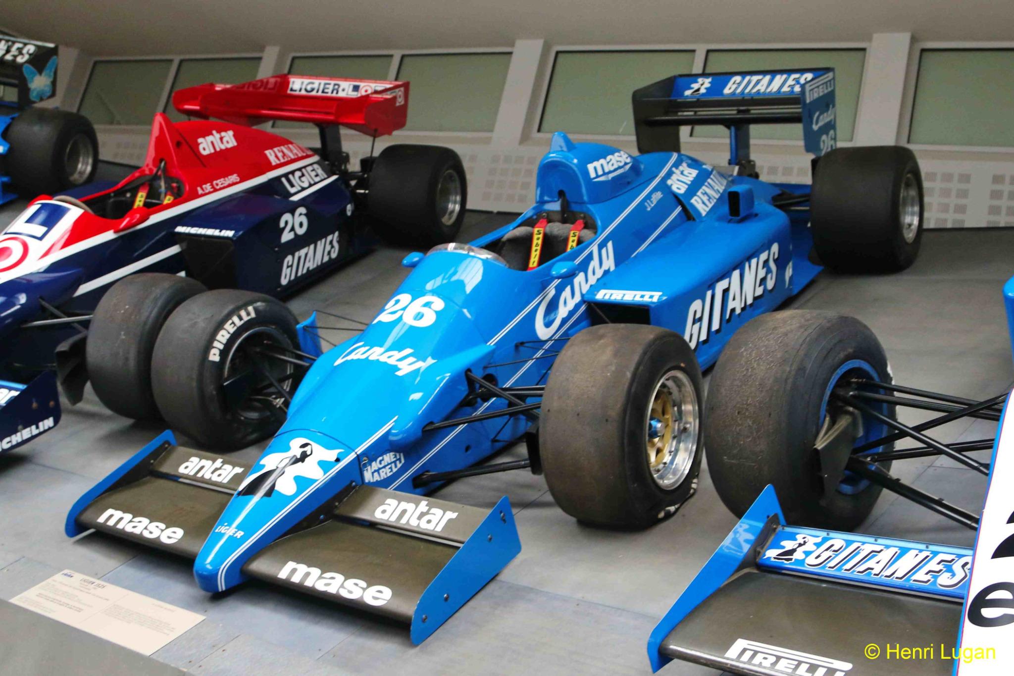 Ligier JS 25 Renault V6T F1_04 - 1985 [F] HL_GF