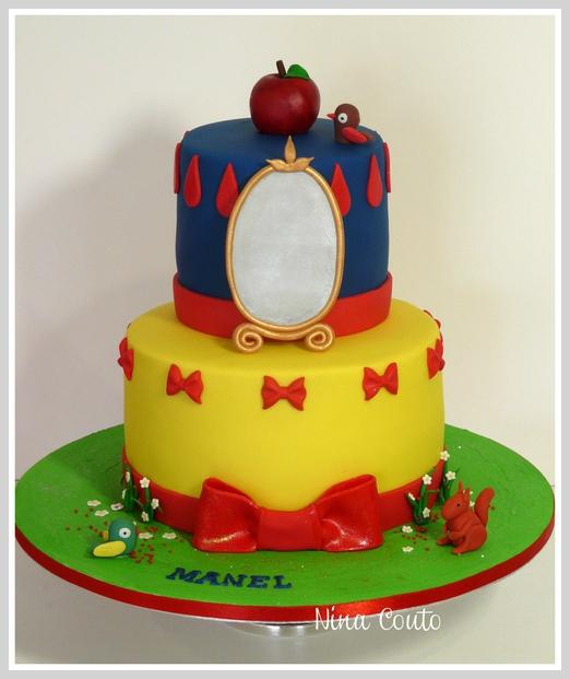 Gâteau anniversaire enfant Nîmes blanche neige Nimes2