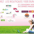 Le shopping durable chez ecofeminin