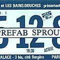 Prefab sprout - jeudi 5 décembre 1985 - eldorado (paris)
