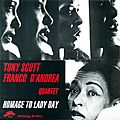Tony Scott Franco D'Andrea - 1995 - Homage To Lady Day (Philology)