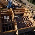 2009 09 07 La construction de Frédéric Montiel le Fustier à La Côte Chaude (7)
