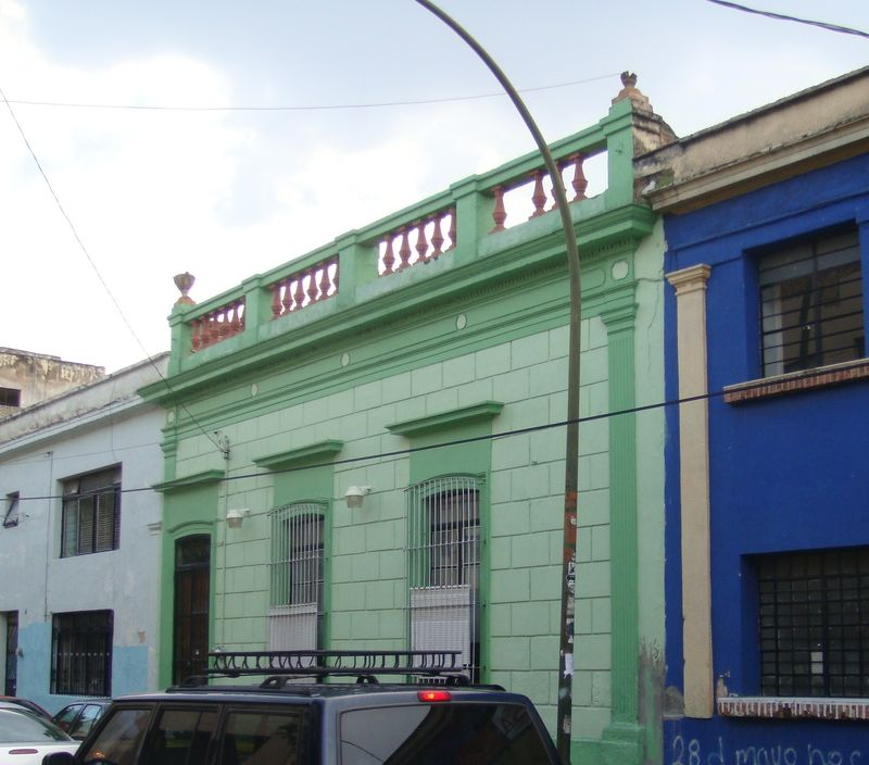 C'est la maison verte !