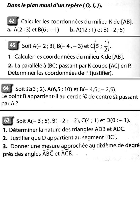 exercices sur les intervalles avec correction - MathLeygues Seconde