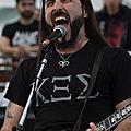 Sakis Tolis du groupe Rotting Christ