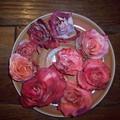 Les roses d'anniversaire de Maman