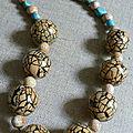 Collier pour Maman, perles en résine