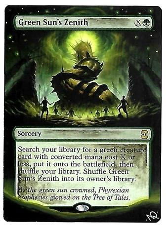Green Sun's Zenith Altered