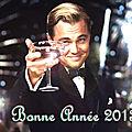 Je vous souhaite à tous une très bonne année 2013 !