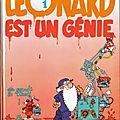 Léonard, héros bd de pablo
