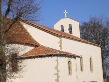 Saint Agnet, église du Pèlerinage Sainte Anne