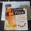 Concours charles & alice - 1ère partie