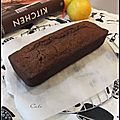 Cake au chocolat & a l'orange by nigella