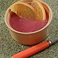 Compote de pommes /poires a l'orange