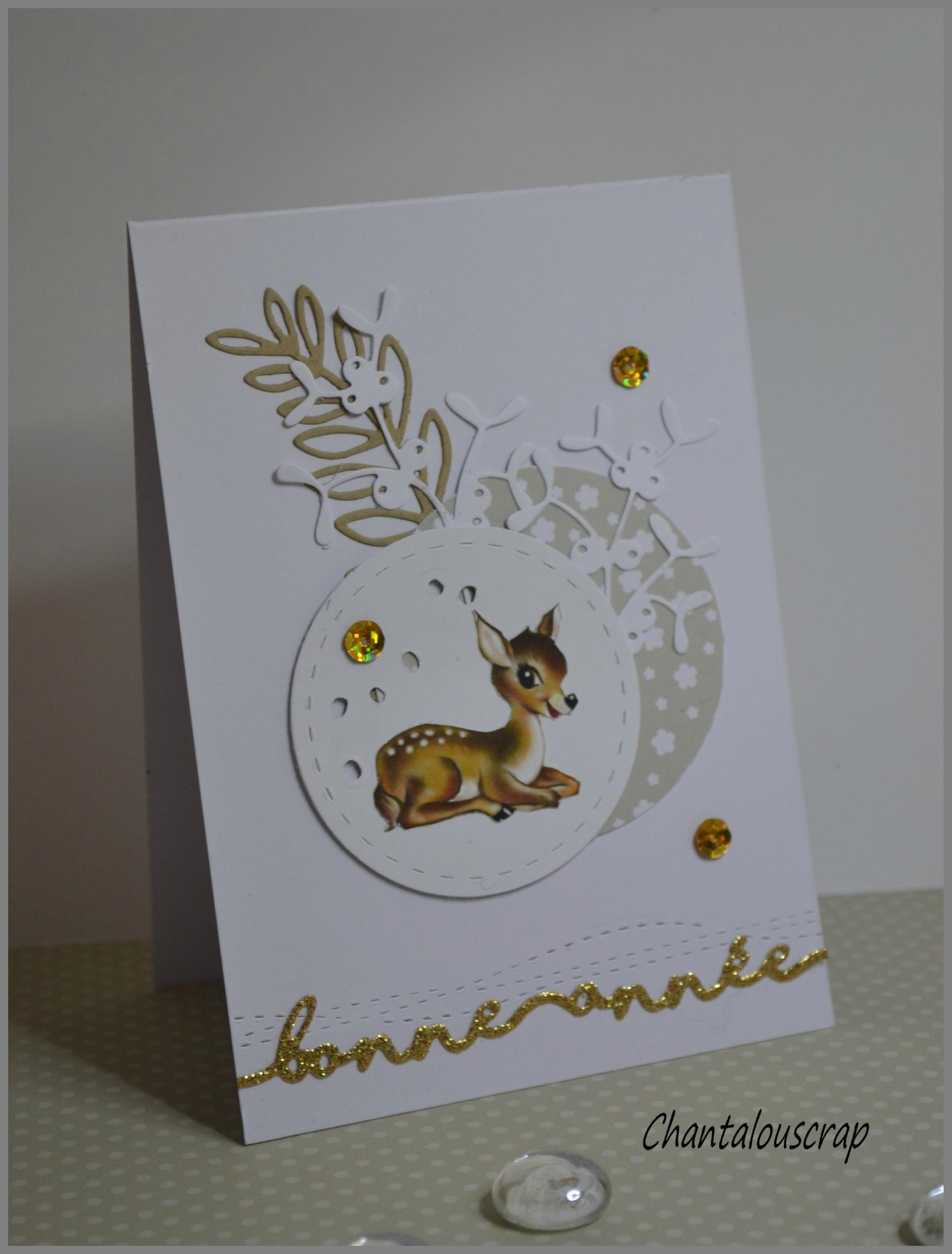 """""""Bambi"""" version Bonne année"""