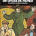 Un opéra de papier - edgar p. jacobs