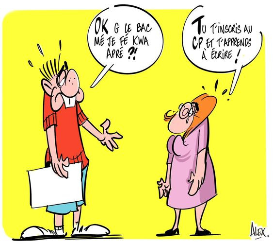 bac education nationale mamouth humour cassos