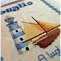 Il punto croce - Banner Luglio