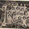 École des filles louis pasteur 1960