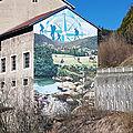 Saint-germain-de-joux ain fresque